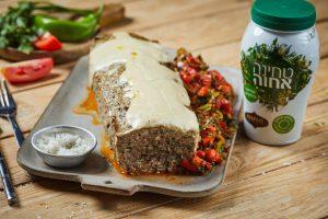 מאפה סורי עם בשר טחון וטחינה אחוה צילום שניר סופגי גואטה