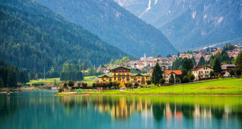 כפר הררי בהאורונזו די קדורה, איטליה